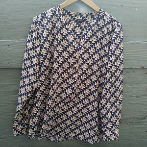 Talbots women blouse size XL
